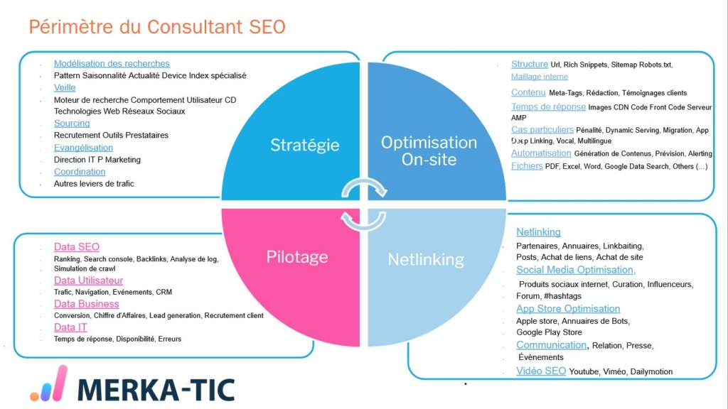 Missions of the SEO Consultant